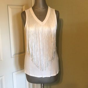 FUC off white fringe tank Cupio medium